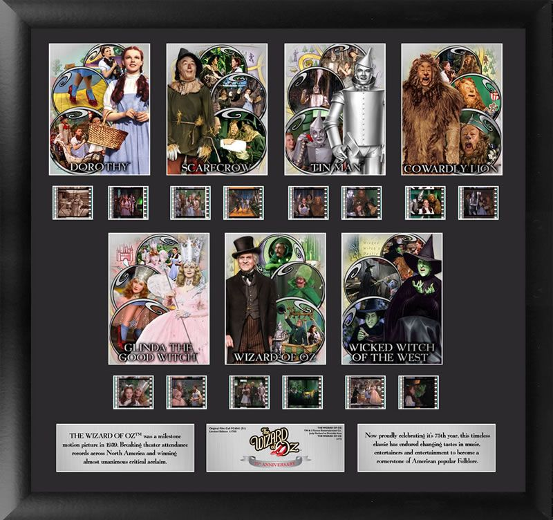 The Wizard Of Oz 75th Anniversary Character Frame