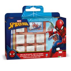 Stempelbox Spiderman, 12dlg.