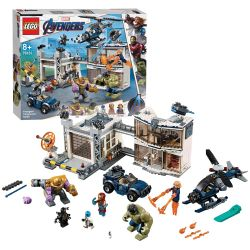 Lego Super Heroes 76131 Battle at the Base of the Avengers