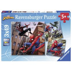 Ravensburger Spiderman Puzzle, 3x49st.