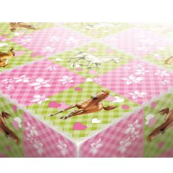 Horses Party tablecloth