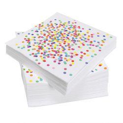 Napkins Confetti, 20pcs.
