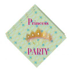 Napkins Princess Party, 20pcs.