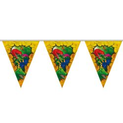 Dino Flags line, 6 m.