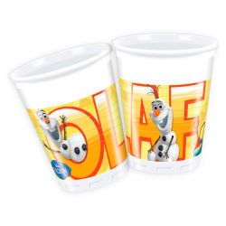 Disney Frozen Olaf cups, 8pcs.
