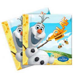 Disney Frozen Olaf napkins, 20pcs.