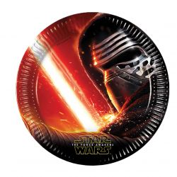 Star Wars plates, 8pcs.