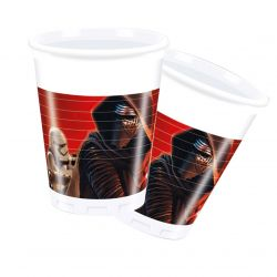 Star Wars cups, 8pcs.