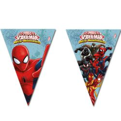 Flags Line Spider man