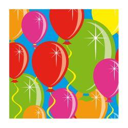 Napkins balloons, 20pcs.
