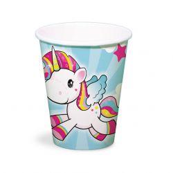 Unicorn Cups, 8pcs.