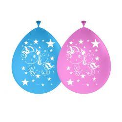 Unicorn Balloons, 8st.