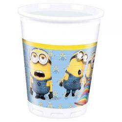 Minions cardboard cups