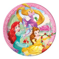 Disney Princess Party cardboard plates