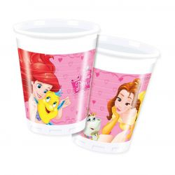 Disney Princess cardboard cups