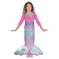 Dress up Rainbow Mermaid, 8-10 years old