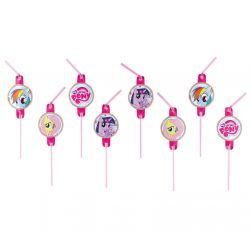 My Little Pony Straws, 8pcs.