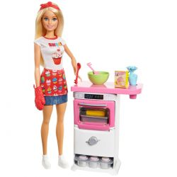Barbie Cupcake Playset