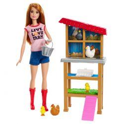 Chicken farmer Barbie Teen