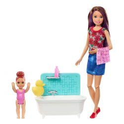 Barbie Skipper Babysitters - Bathing time