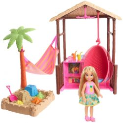 Barbie Chelsea - Tiki Tent Playset