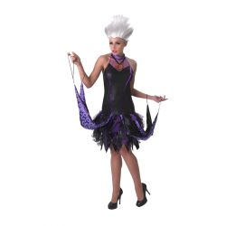 Little mermaid URSULA costume with wig