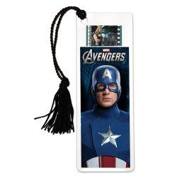 Avengers Captain America Filmcells Bookmark