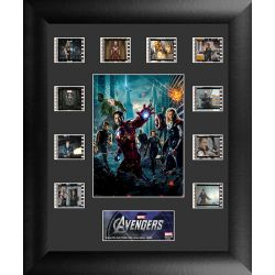 The Avengers Collector Group Filmcells Framed