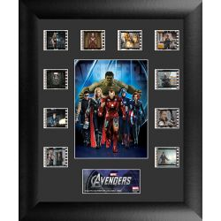 The Avengers Collector Filmcells Framed
