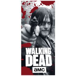 Walking dead Darryl  beach towel