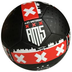 Soccer ball Ajax big leather