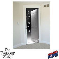 The Twilight Doorway Wall Poster