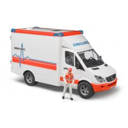 Sprinter ambulance with driver