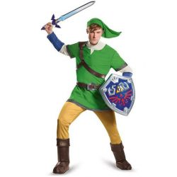 Legend of Zelda Adult Deluxe Costume Link M