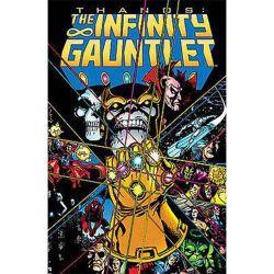 Marvel Comics Infinity Gauntlet Trade Paperback Book
