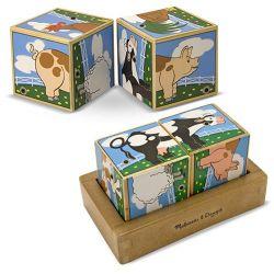Farm Animal sound Blocks  (melissa & Doug)