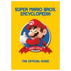 Super Mario Encyclopedia The Official Guide Hardcover Book