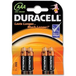Battery Duracell Plus Power MN 2400 AAA 4x