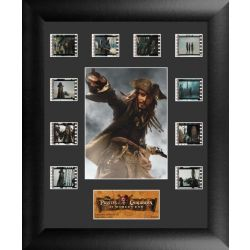 Pirates of The Caribbean At Worlds End Collector Filmcells Frame
