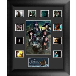 Pirates of The Caribbean On Stranger Tides Collector Frame