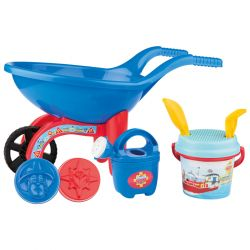 Fireman Sam Wheelbarrow with beach set