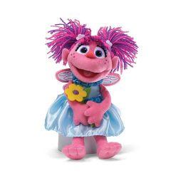 Sesame Street Abby Cadabby Holding Flowers Plush