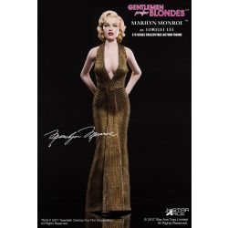 Marilyn Monroe Gold Dress Action Figure 1/6