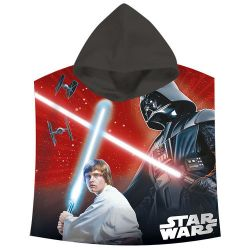Star Wars Darth Vader saga cotton poncho towel