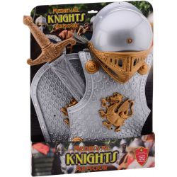 Knight Role Play Costume large: 4 piece