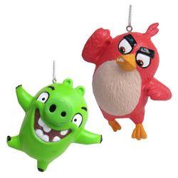 Angry Birds Figure Ornament Set 2pcs