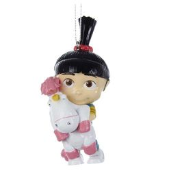 Minions Despicable Me Agnes and Fluffy Ornament