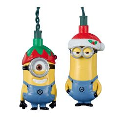 Despicable Me Stuart and Kevin Light Set