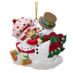 Strawberry Shortcake Personalization Ornament