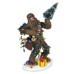Star Wars Chewbacca 8-Inch Holiday Statue